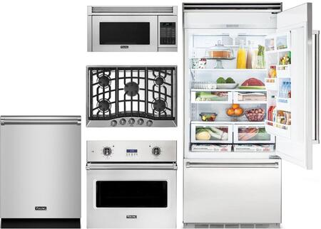 Viking 874123 Kitchen Appliance Package & Bundle Stainless Steel, main image