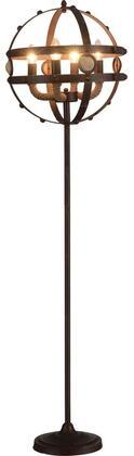 Acme Furniture Benie 40094 Floor Lamp Brown, 1