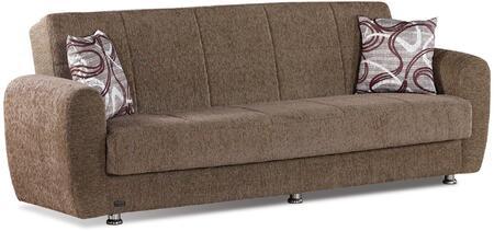 Empire Furniture USA Colorado SBCOLORADO Sofa Bed Beige, SB-COLORADO Front View