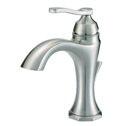 Draper D225028BN Single Handle Lavatory Faucet 1.2 GPM  in Brushed