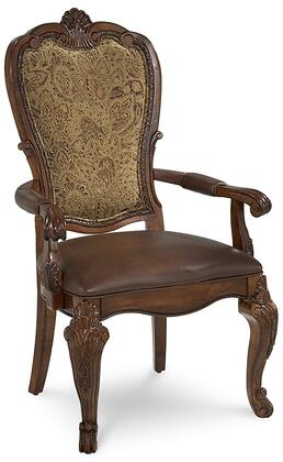 143207-2606 Old World- Upholsteredolstered Back Arm