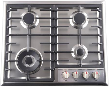 """Galanz  GL1CT24AS4G Gas Cooktop Stainless Steel, GL1CT24AS4G 24"""" Gas Cooktop"""