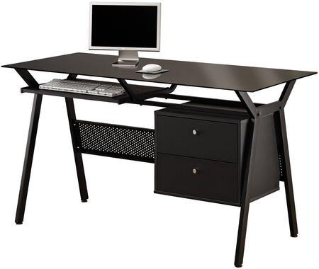 Coaster Home Office 800436 Office Desk Black, 1