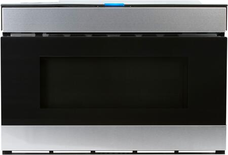 "Sharp SMD2480CS 24"" Wave Microwave Drawer with 1.2 cu. ft. Capacity, Hidden Touch Glass, Motion Sensor Touch-less Access, in Stainless Steel"