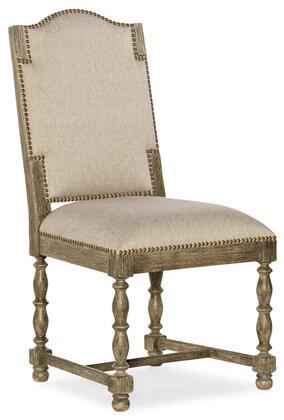 Hooker Furniture La Grange 69607541181 Dining Room Chair Beige, Silo Image