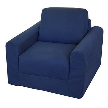 Fun Furnishings 20101 Kids Chair Blue, 1