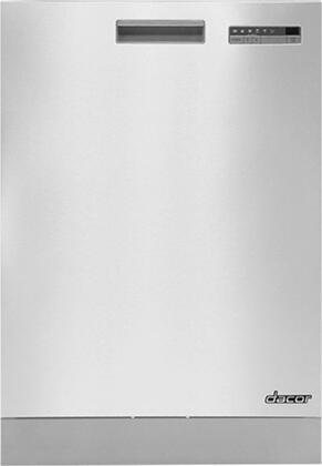 Dacor Heritage DDW24S Built-In Dishwasher Stainless Steel, Main Image