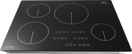 FCTIN0539-30 30″ Bezozzo Induction Cooktop with 4 Elements  Touch Control  Automatic Safety Switch Off and Residual Heat Indicator in