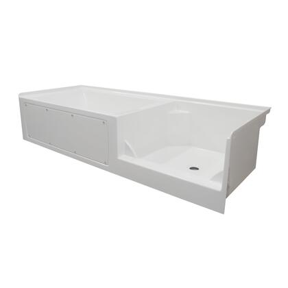 Valley Acrylic Signature Collection OVO10236RS Bath Tub White, Main Image
