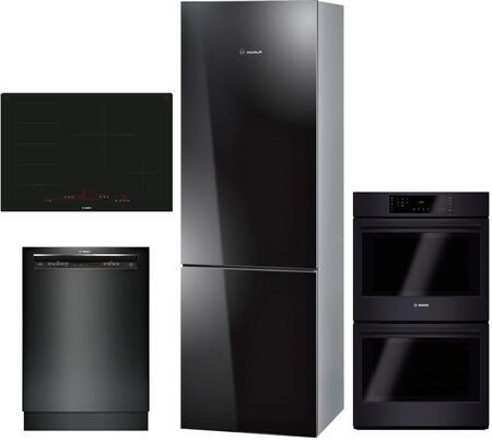 Bosch 800 Series 1054213 Kitchen Appliance Package & Bundle Black, main image