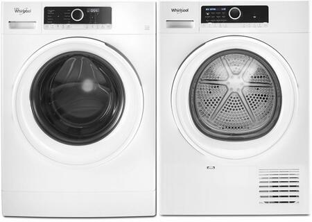 Whirlpool  1422896 Washer & Dryer Set White, 1