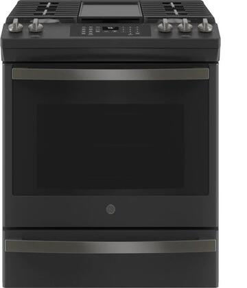 GE  JGS760FPDS Slide-In Gas Range Black Slate, JGS760FPDS Slide In Gas Range