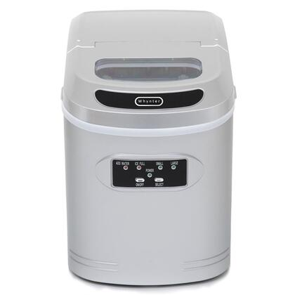 Whynter IMC270MS Ice Maker Silver, Front View