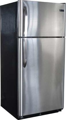 Diamond Gas Refrigerators  100000106 Propane Refrigerators Stainless Steel, Angled View