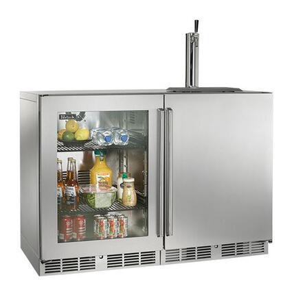 Perlick  HP48RTO3L1R1 Beer Dispenser Stainless Steel, 1