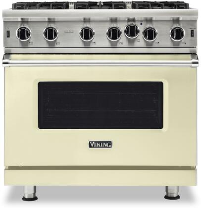 Viking 5 Series VGIC53626BVC Freestanding Gas Range Bisque, VGIC53626BVC Gas Range