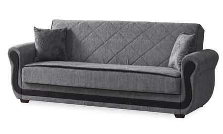 Casamode Maddox MADDOXSOFABEDGRAY Sofa Bed Gray, Main Image