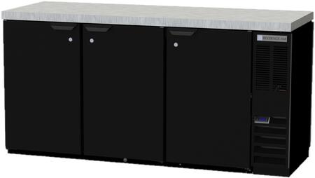 Beverage-Air  BB72HC1PTS27 Back Bar Cooler Stainless Steel, Main Image