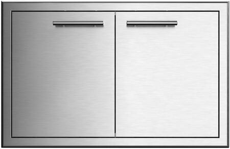 XOG36DD 36″ Double Access Door with 304 Stainless Steel Construction and Soft Close Hinges in Stainless