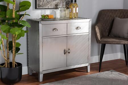 Wholesale Interiors Romain LD18B051SILVERCABINET Cabinet , 10248 7
