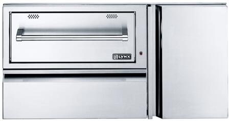 Lynx  L42CC Outdoor Warming Drawer Stainless Steel, 1
