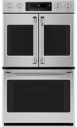 Cafe Customizable Professional Collection CTD90FP2MS1 Double Wall Oven Stainless Steel, Main Image