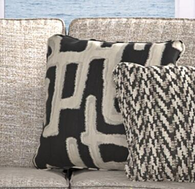 Signature Design by Ashley Beachcroft PA791011 Outdoor Pillow Black, Main Image