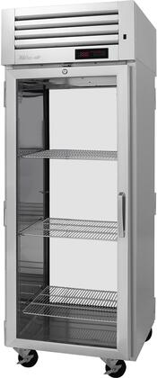 PRO-26H-G-PT-L 29″ Pro Series Left Hinged Glass Door Pass-Thru Heated Cabinet with 26.4 cu. ft. Capacity  Digital Temperature Control & Monitor