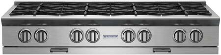 BlueStar Platinum BSPRT488B Gas Cooktop Stainless Steel, Main Image