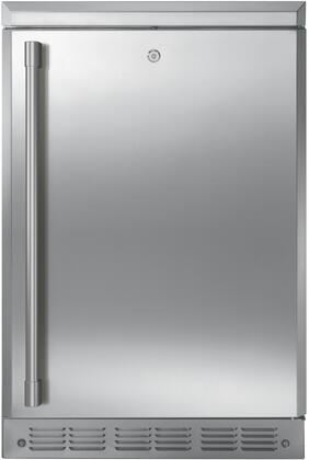 Monogram  ZDOD240NSS Compact Refrigerator Stainless Steel, ZDOD240NSS Front View