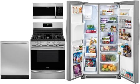 Frigidaire 974603 Kitchen Appliance Package & Bundle Stainless Steel, main image