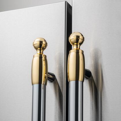 Bertazzoni  DS2HERTGO Appliance Accessories Gold, DS2HERTGO Gold Decor Set