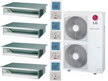 LG  963887 Quad-Zone Mini Split Air Conditioner , Main Image
