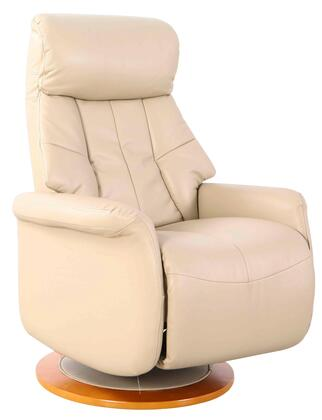 Orleans Collection ORLEANS710530 Recliner with 360 Degree Swivel  Adjustable Recline  Memory Foam Seating  All Steel Construction and Durable