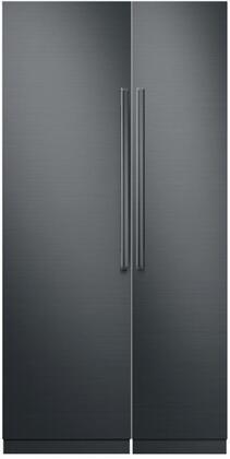 Dacor Contemporary 775934 Column Refrigerator & Freezer Set Graphite Stainless Steel, main image
