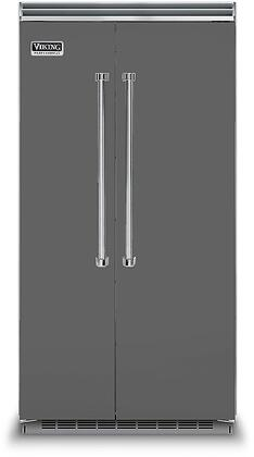 Viking 5 Series VCSB5423DG Side-By-Side Refrigerator Slate, VCSB5423DG Side-by-Side Refrigerator