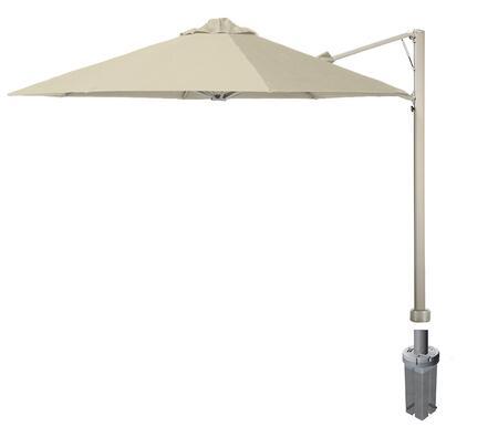 Shadowspec SU7 Series KITP7SQ25GAWHTA Outdoor Umbrella White, White Sand