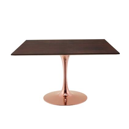 Modway Lippa EEI5269ROSCHE Dining Room Table Brown, EEI 5269 ROS CHE 1