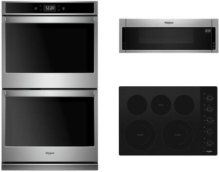 Whirlpool 1107761 Kitchen Appliance Package Stainless Steel, 1