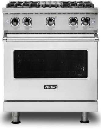Viking Professional 5 VGR5304BSSLP Freestanding Gas Range Stainless Steel, Main image front view