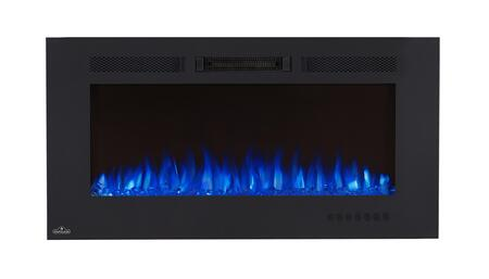 Napoleon Allure Phantom Shown with Blue Flame