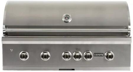 Coyote S Series C1SL42LP Liquid Propane Grill Stainless Steel, Main Image