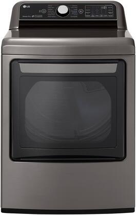 LG  DLGX7801VE Gas Dryer Graphite Steel, Main View