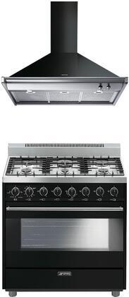 Smeg 1054413 Kitchen Appliance Package & Bundle Black, main image