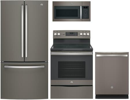GE  844597 Kitchen Appliance Package Slate, Main Image