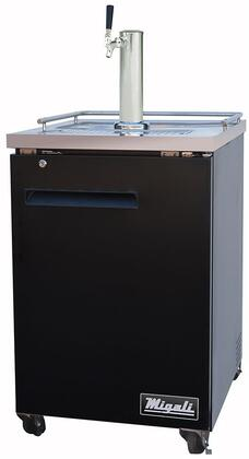 Migali Competitor CDD231HC Commercial Beer Dispenser Black, Main Image