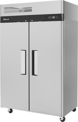 Turbo Air M3 Series M3R472N Reach-In Refrigerator Stainless Steel, M3R472N Angled View