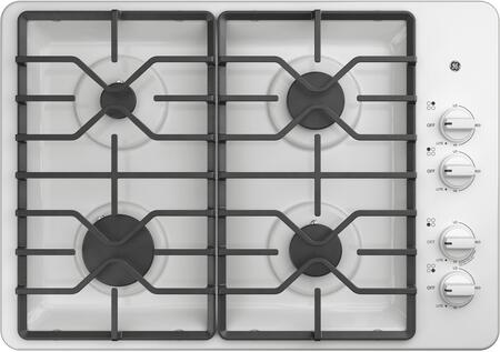 Ge Jgp3030dlww 30 Inch Gas Cooktop With 4 Sealed Burners Precise