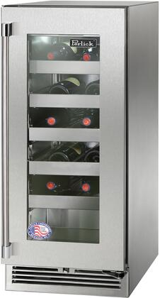 Perlick Signature HP15WO43RL Wine Cooler 25 Bottles and Under Stainless Steel, Main Image