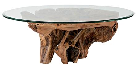 Hidden Treasures Collection 090-555R Root Ball Cocktail Table in Light